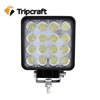 High Quality 48 Watt Working Led Lights 12v 24v Dc Offroad Auto 48w Led  Offroad Light For Car Auto Truck Tractor Heavy Duty - Buy 48w Led Offroad
