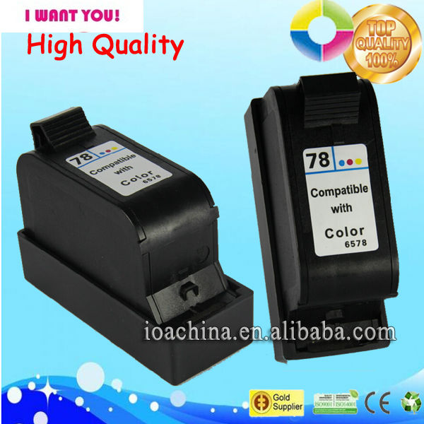 best selling product wholesale ink cartridges for hp 78 6578D ink cartridge