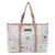 OEM Good Quality pu digital printing pink large bag for wovmen