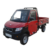 mini truck 4 wheels cargo delivery new electric pickup
