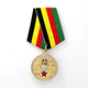 China Custom Design British Sport Metal Gold Military Medaling Medal With Pin