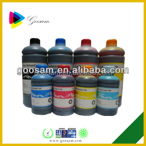 Top quality eco solvent ink for Dazzle jet 3201E printer