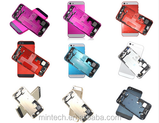 Replacement color back Housing For iPhone 5 5s