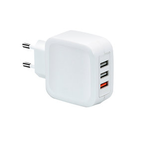 30W travel charger 3 usb ports power adapter QC3.0 wall charger for mobile phone/MP4