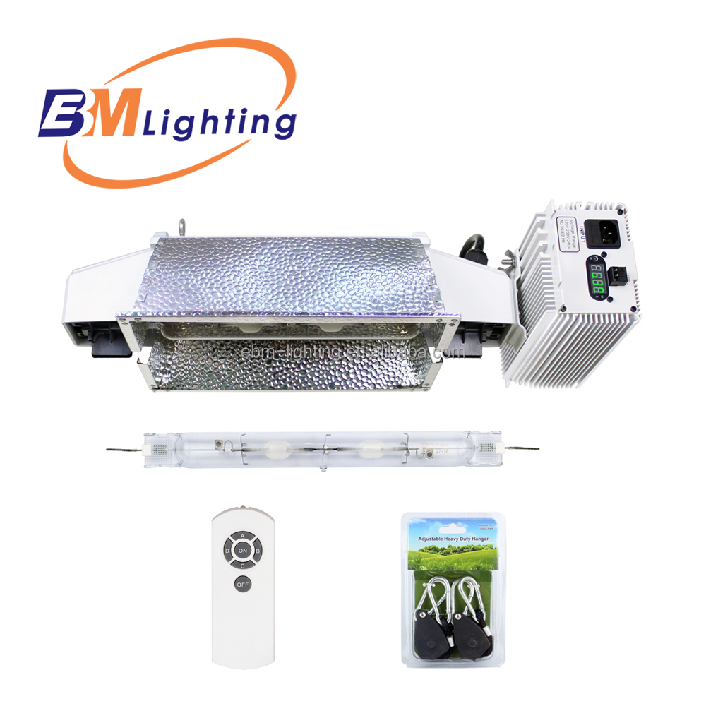 2017 EBM lighting 630W CMH double ended electronic ballas grow light complete fixture