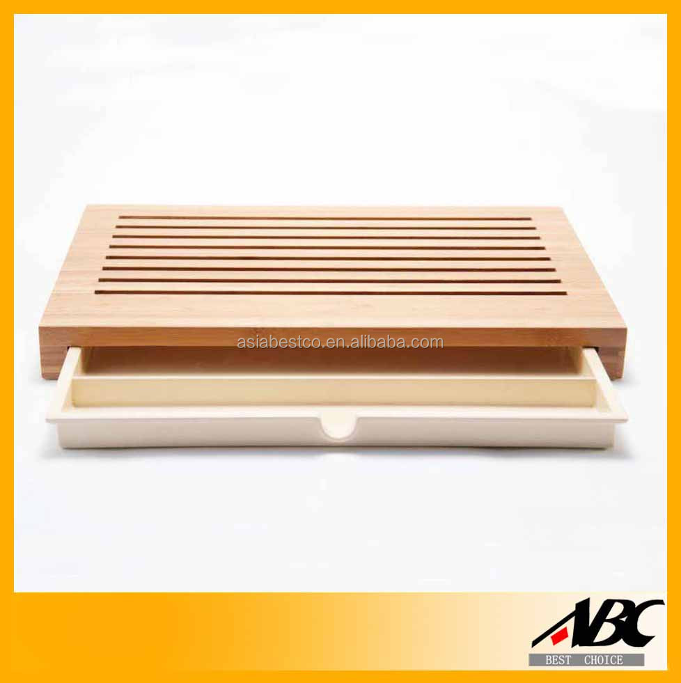 Popular Style Custom Wood Cutting Board With Container