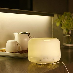 Household air humidifier, air purifier,essential oil diffuser ultrasonic with 7 color led lamp