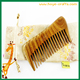 laser logo comb Sandal Wood hair comb with wide tooth