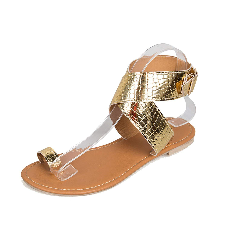f3d75d7ca3e82 Get Quotations · Romantic moments Women Sandals Clip Toe 2018 Summer  Platform Sandals peep Toe Leather Cracked Shoes Women