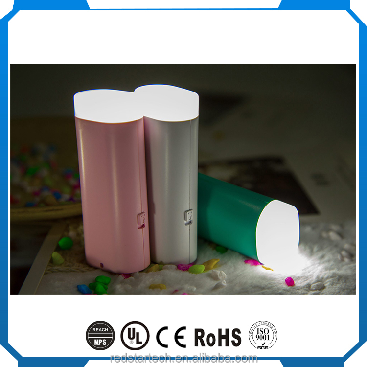 Redstar Factory direct wholesale portable power bank for mobile phone, power charger, 2600mah power bank