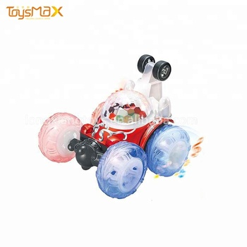 Hot Wholesale Rolling Stunt RC track car toy for kids
