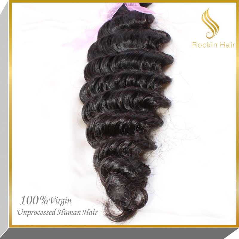 New Arrival Top Selling 2017 Deep Wave 7A Remy Cheap Brazilian Hair Extension