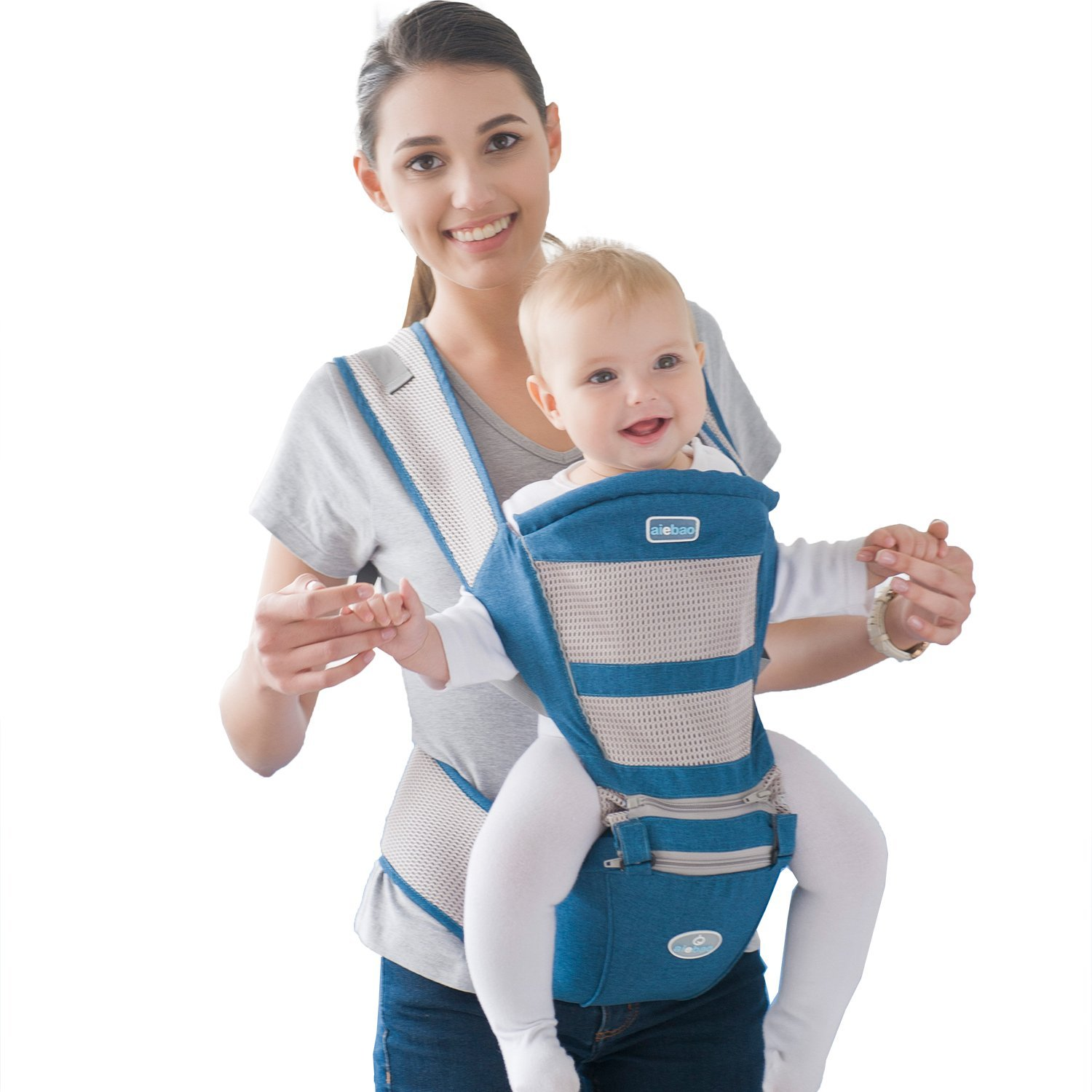 31623076a6b Get Quotations · Baby Carrier Backpack - Front Back and Hip Face In and  Face Out Child Carrier Backpack