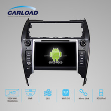 Android 2 din car dvd with gps for double din toyota camry USA/Middle East