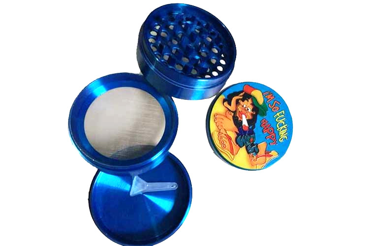 T019GZ LVHE Tolly Fashion Popular Custom Logo Stone Grinder Tobacco
