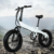"20""*4.0inch 250w 350w 500w two wheel folding electric fat tire mountain bike/foldable bicycle/e bike"