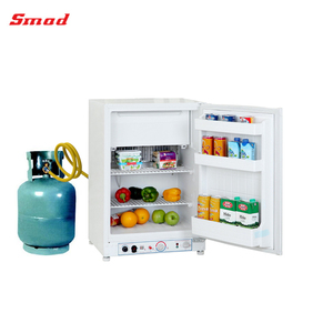 40L-100L Mini 12v DC 220/110v AC LPG Gas Three Way Outside RV Noiseless Absorption Refrigerator