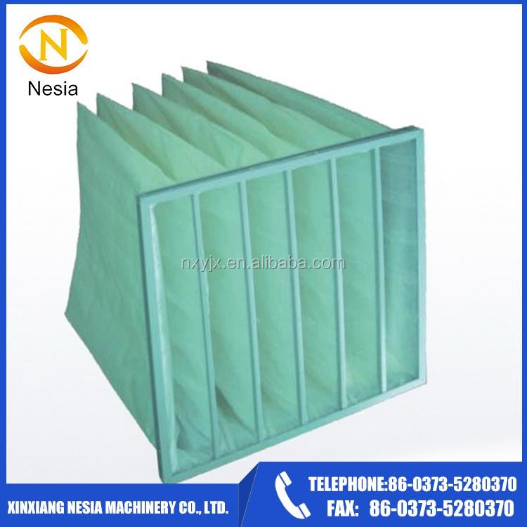 Nesia Supply Hot Sale Bag Media Synthetic Fiber Pocket Filter