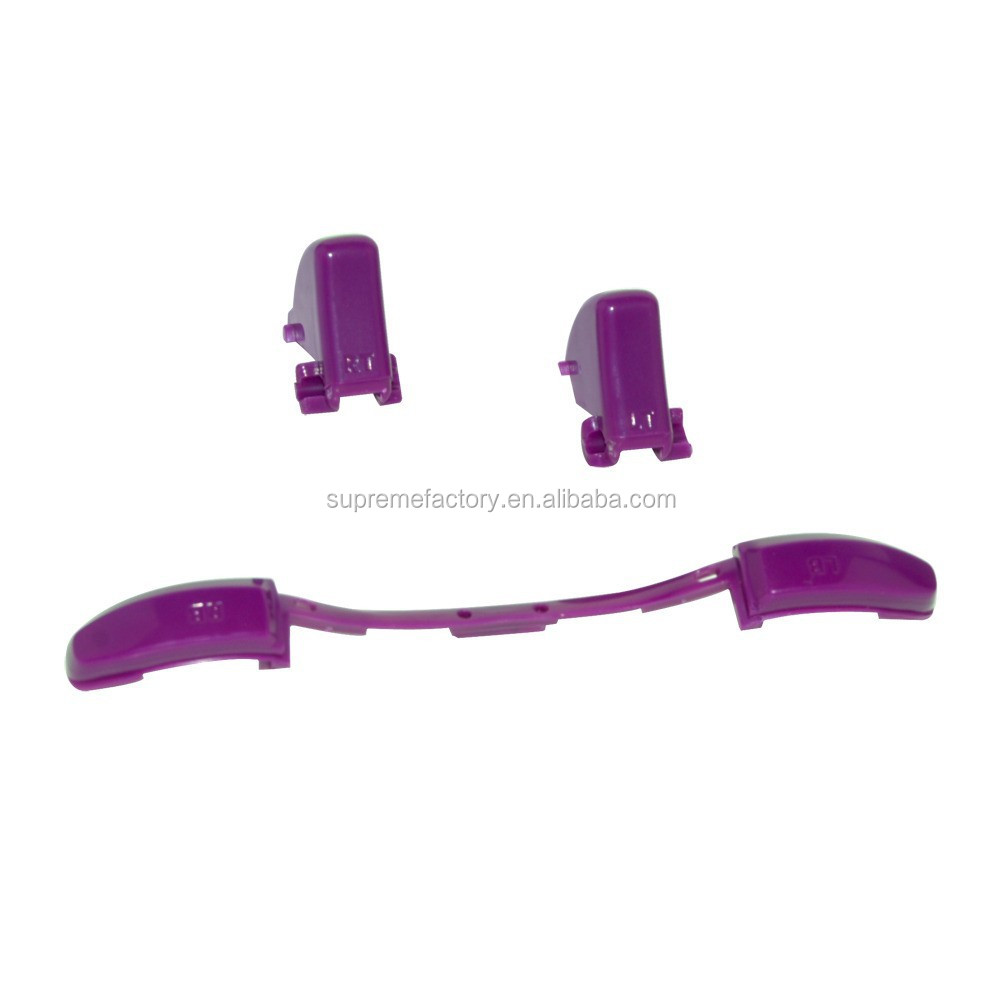 Cheap Price Purple Trigger Bumper Button Set Replacement Component For Xbox 360 Controller Joypad