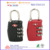 Professional Manufacturer three digit Combination TSA Luggage Lock 9124