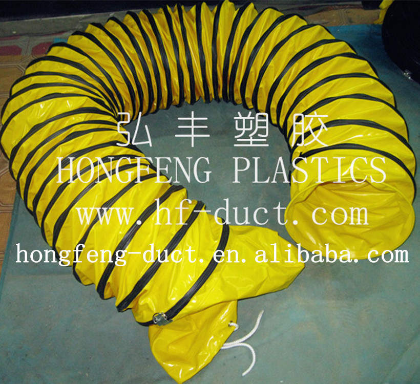 foshan manufacturer fan fitting tube duct hose