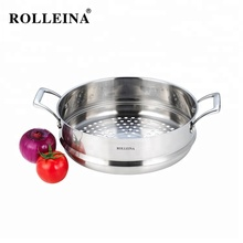 Hoge Kwaliteit Tri Ply Roestvrij Staal Koken Pot Voedsel <span class=keywords><strong>Dim</strong></span> <span class=keywords><strong>Sum</strong></span> Ei Stoomboot