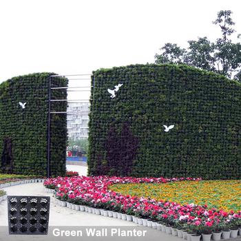 Vertical Garden Green Wall Hydroponics Pot System Garden Wall Covering Sl Y5012 Green Wall Planters Pots Buy Vertical Garden Green Wall Hydroponics