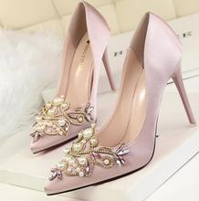 up-0650r Women party shoes 2017 elegant new model wedding shoes
