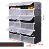 Fashion simple design shoe cabinet cheap low price black color shoe cabinet (FH-AW181214-12)