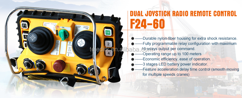 remote control for concrete pump,hetronic joystick F24-60
