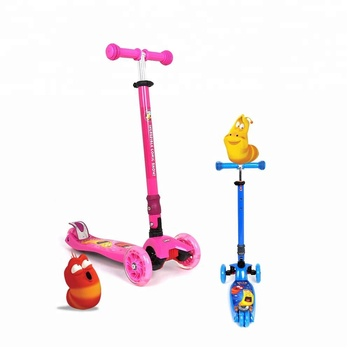 Funny Kids Push Car Folded 4 Wheel Child Glider Pro Scooter