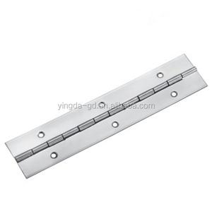 SS201/SS304 piano hinge polished/ Heavy duty furniture door hinge YD-133A  from Yingda door hinge factory