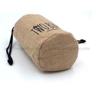 Stylish small designed candy jute used burlap bag