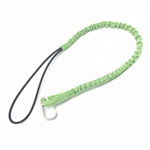 High Quality Green Adjustable Stretch Tool Safety Lanyard Wholesale