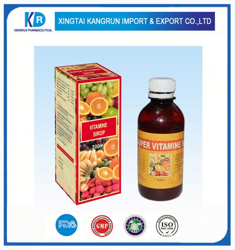 Top Vitamin B Complex + Iron Syrup