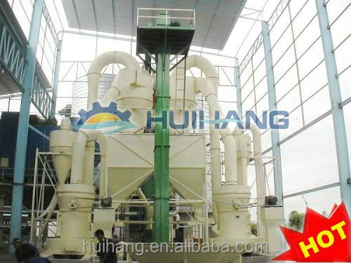 gypsum powder production line with 300 ton per day