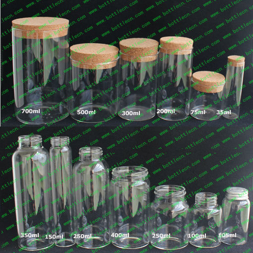 0.5ml/1ml/1.5ml/2ml/3ml/5ml/10ml/25ml glass <strong>bottles</strong> with cork lid