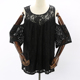 Fashion Blouses Plus Size Women Lace Tops Latest Design OEM Clothing