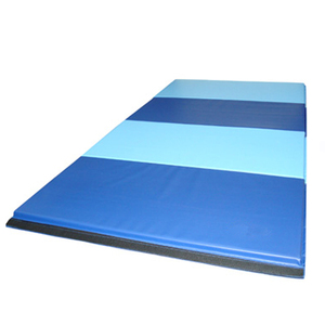 Manufacture Wholesale Folding Gym Mats panel Gymnastics Tumbling Exercise Mat for fitness body building