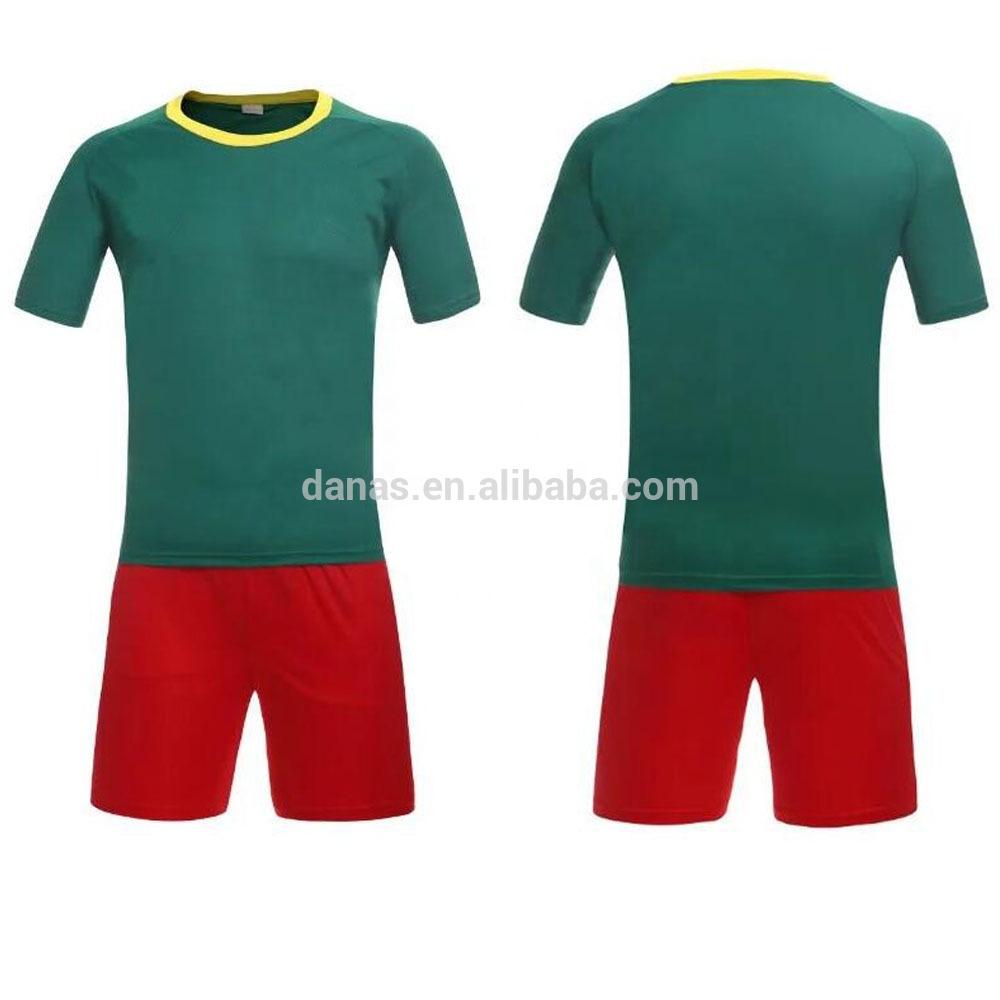 cb95890f0cf Custom Wholesale Comfortable Cameroon Team Soccer Uniform - Buy Soccer  Jersey Set Custom