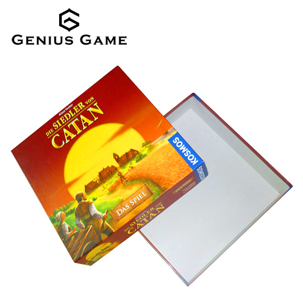 The settlers of Catan board game with customized printing