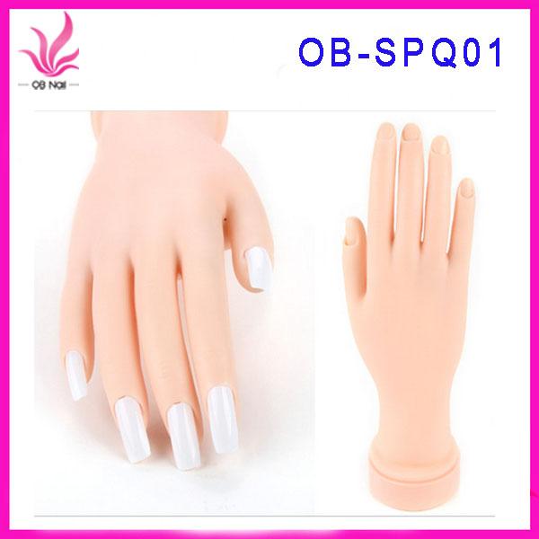 Hand Model Nail Art Training Hand Acrylic Nails Practice Hand - Buy ...