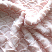 china wholesale cuddle brushed fleece fabric for baby blanket