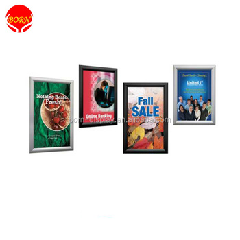 A0,A1,A2,A3,A4 Hanging Poster Photo Snap Frame With Aluminum Profile ...