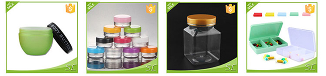 Slime Glue Putty Storage Containers Jars Clear Empty Plastic Containers