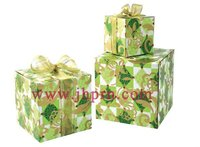 forest green paper gift boxes