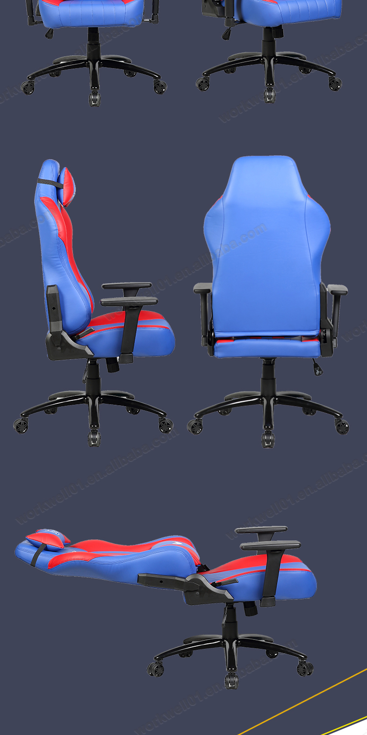 Hot design custom light color gaming chair ,ergonomic chair gaming