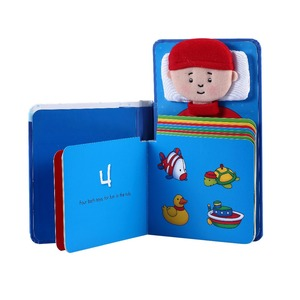 Part hand made Custom children card book printing