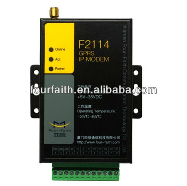 GSM GPRS modem RS232 For Remote data monitor and control (f2114)