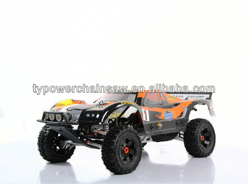 New style upgraded 1/5 RC gas rc car 30.5cc 305AT